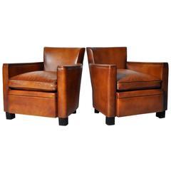 Pair of Petite Club Chairs