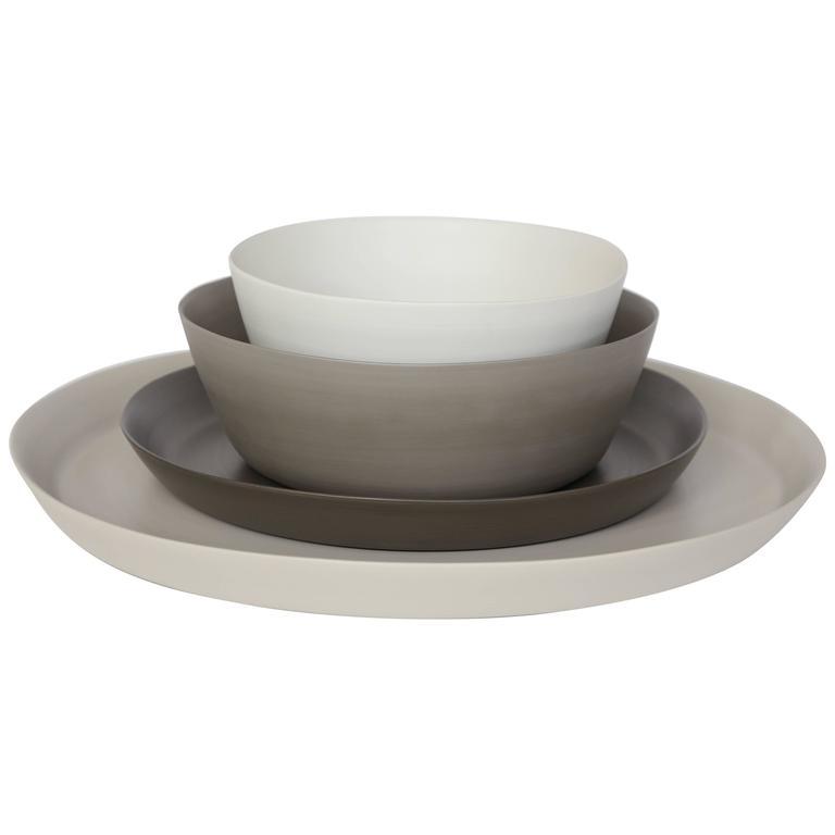 Rina Menardi Handmade Ceramic Splash Bowls and Dishes For Sale
