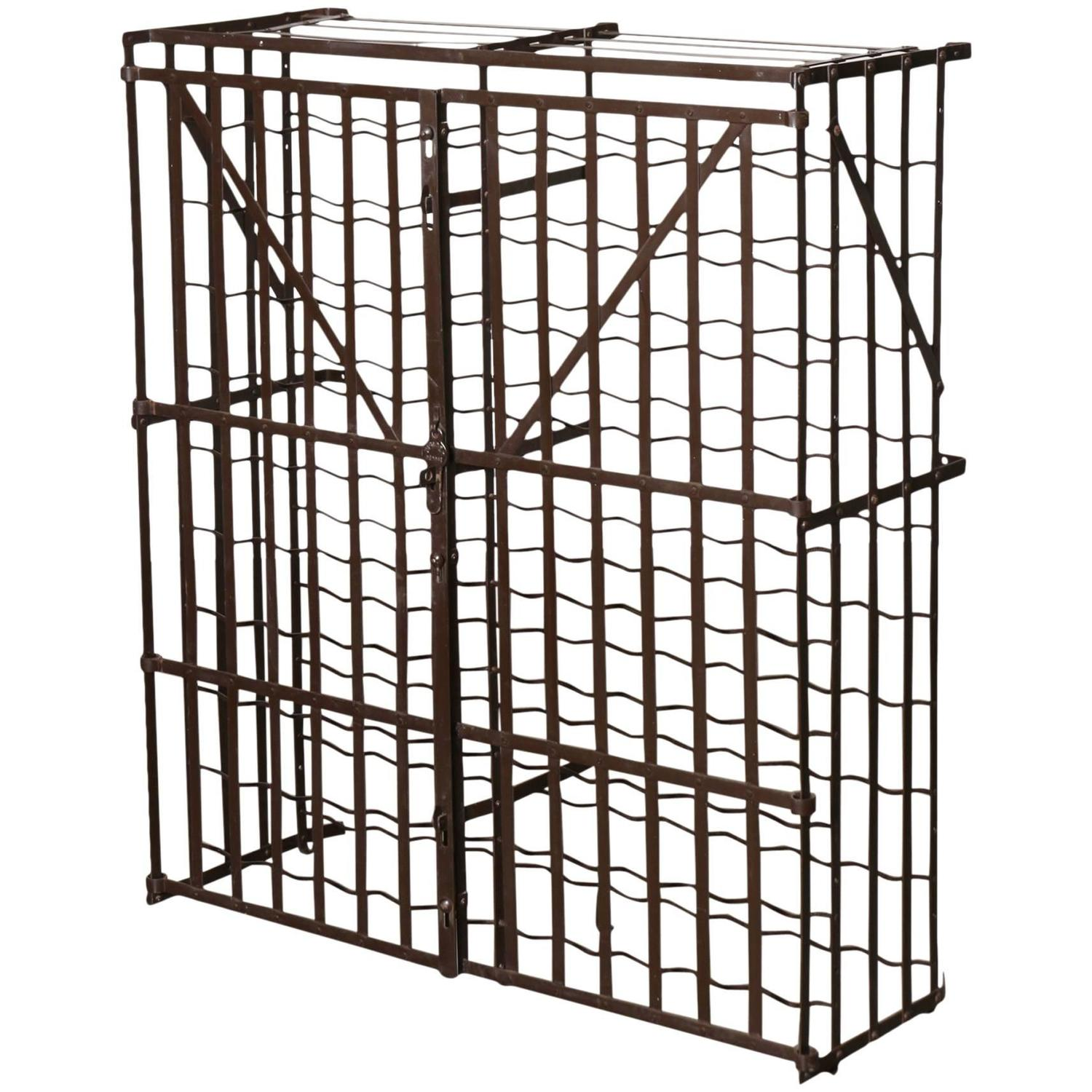 Commercial Grade Lockable Metal Wine Rack By Rigidex