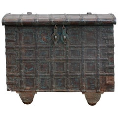 Weathered Bronze Clad Wood Trunk