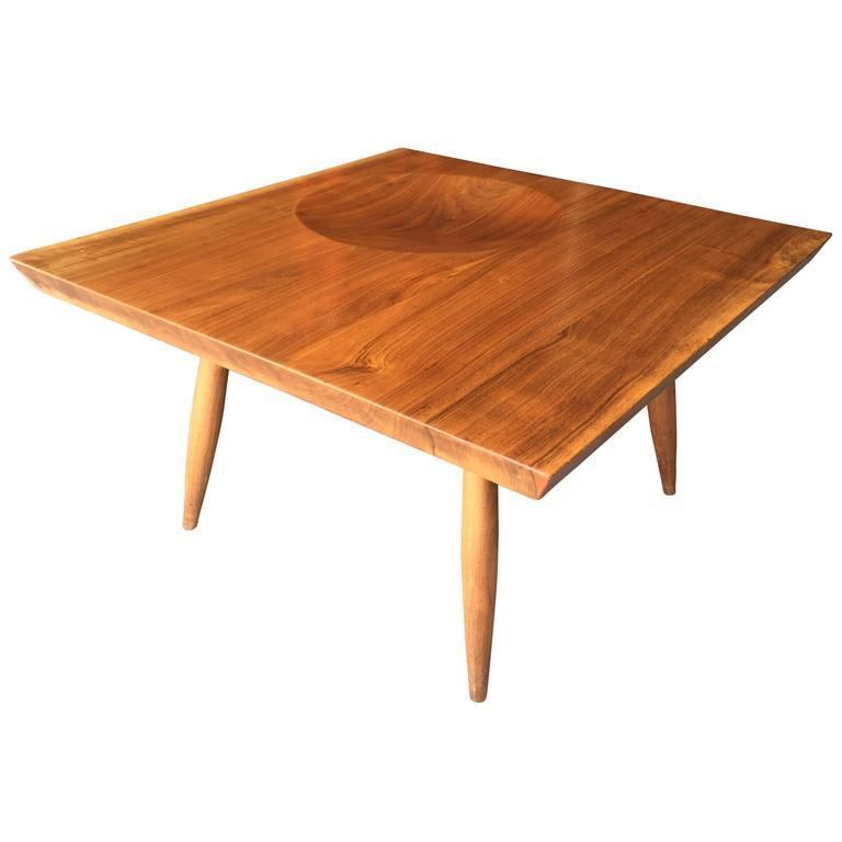 New Hope Black Walnut Studio Cocktail Table 1