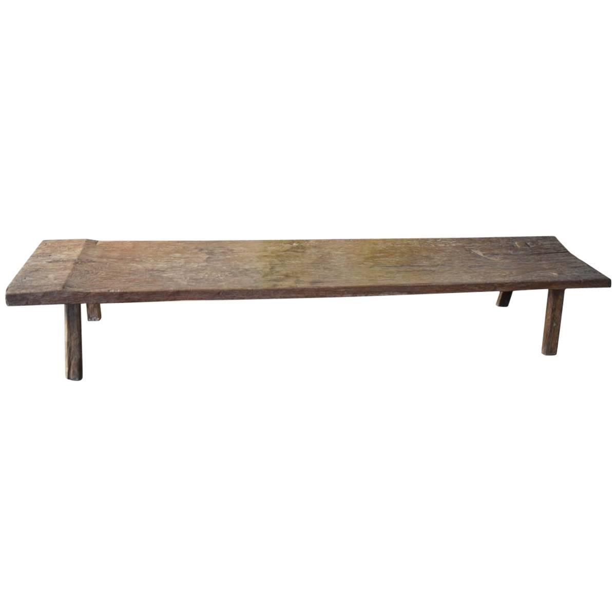 Wabi-Sabi Bench Or Coffee Table At 1stdibs