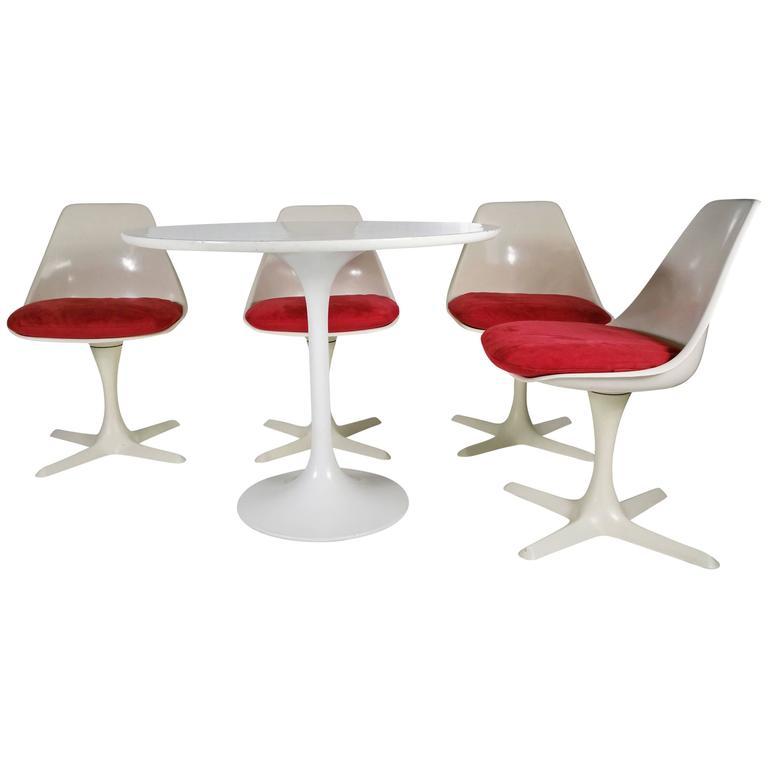 Saarinen Style Dining Suite Designed By Maurice Burke