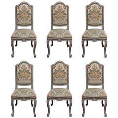 Set of Six Louis XV Chairs