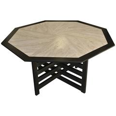 Octagonal Table by Harvey Probber