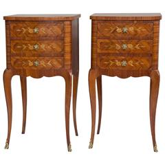 Pair of Louis XV Style Nightstands