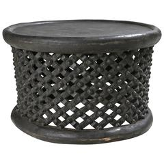 Hand Carved African Cameroon Cocktail Table