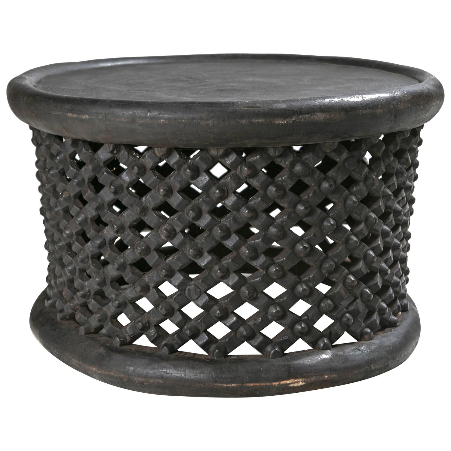 Hand Carved African Cameroon Cocktail Table At 1stdibs