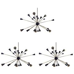 Three Sputnik Lights