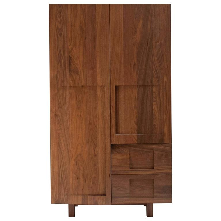 Workstead Wardrobe, Walnut For Sale