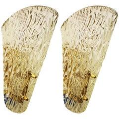 Ice Glass J.T. Kalmar Sconce