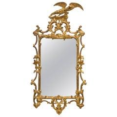 Italian Giltwood Eagle Mirror
