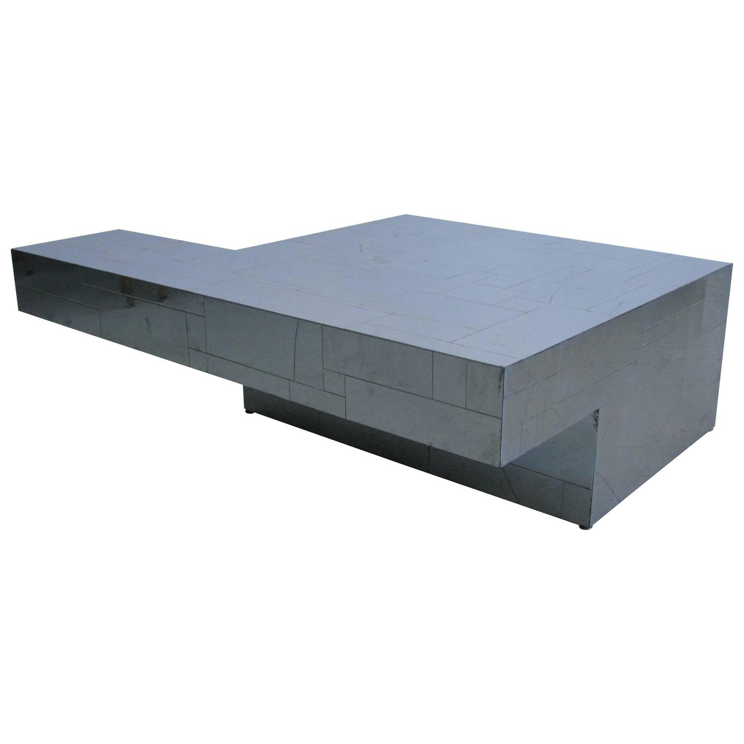 1970s Cantilever Cityscape Coffee Table By Paul Evans At 1stdibs