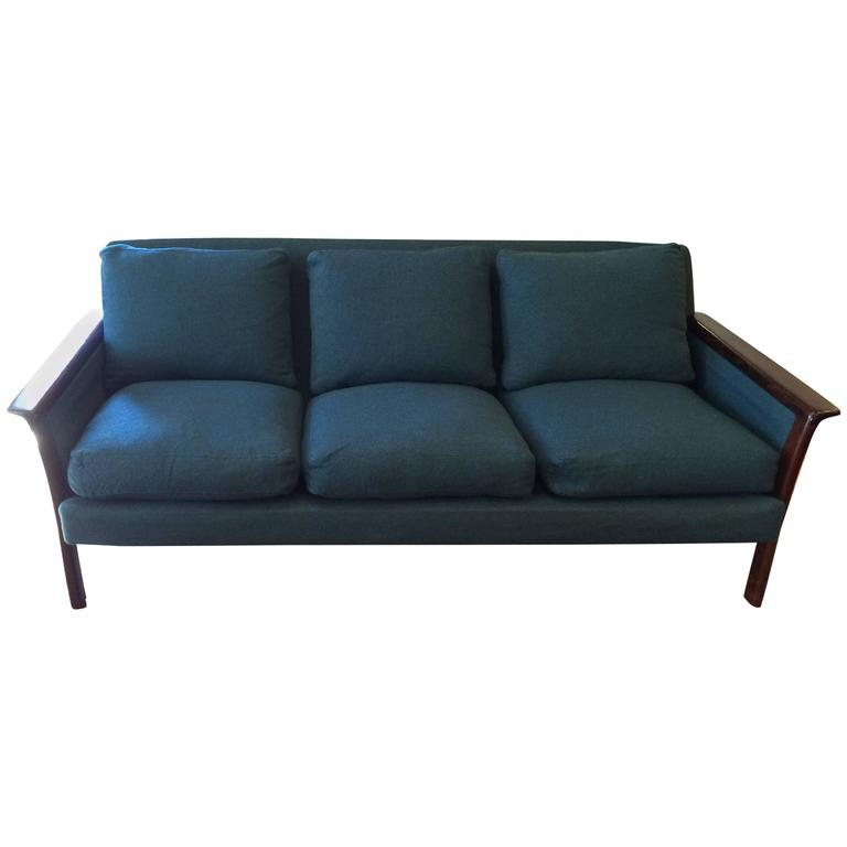 Broderna Anderssons Rosewood Sofa For Sale