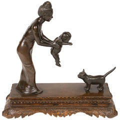 Bronze Pegu Statue