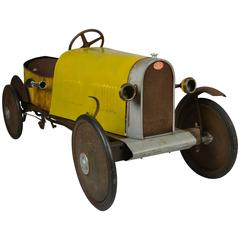 1920s Pedal Car by Euréka, Model Bugatti Sport N° 1/27