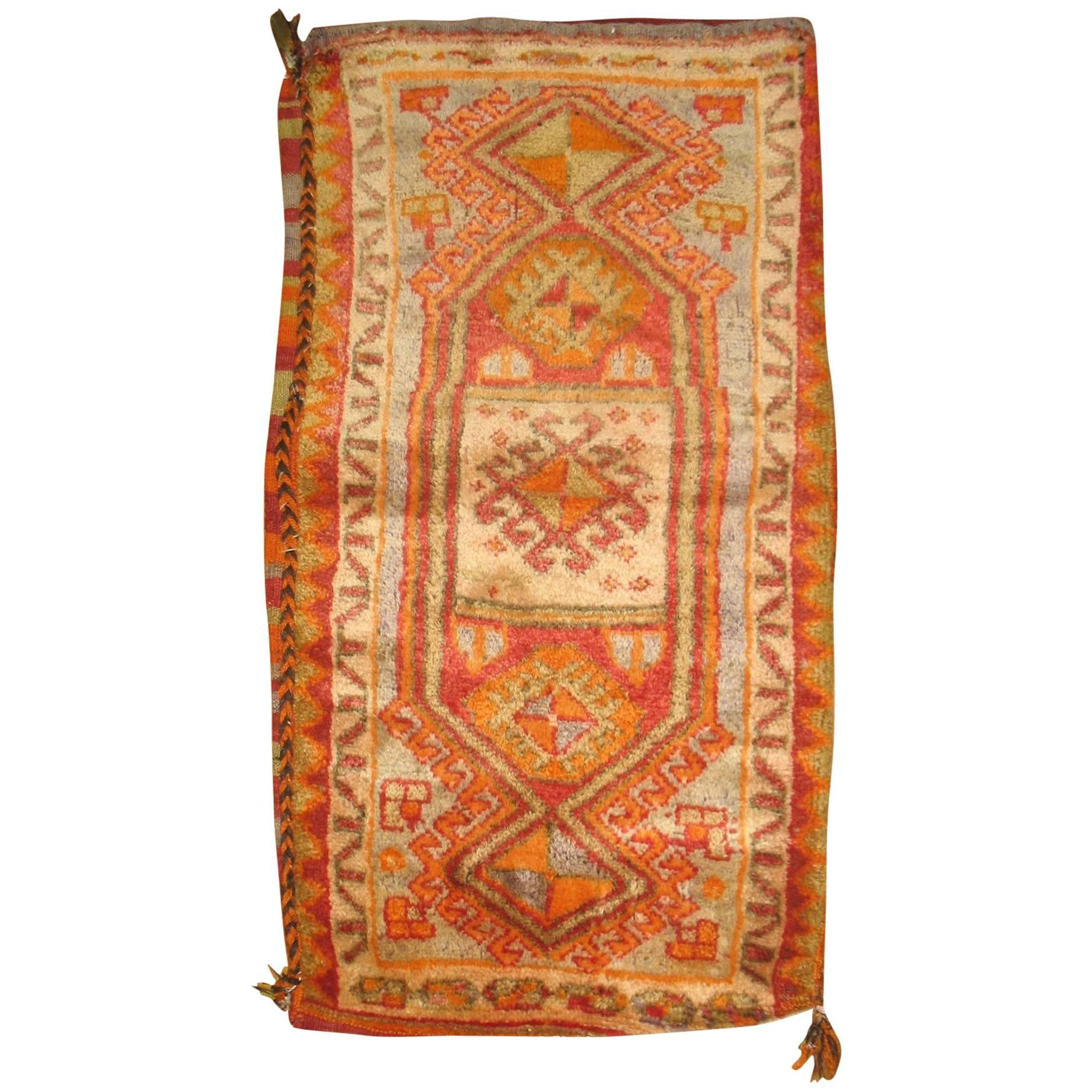 Turkish Yastik Pillow Textile Rug Bag