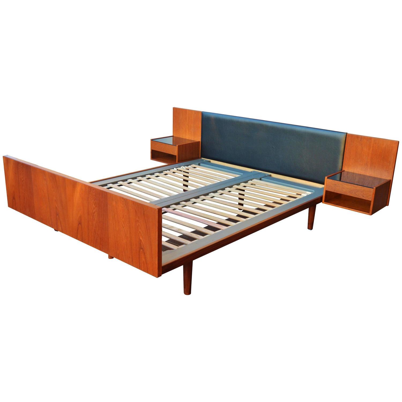 mid studio bed size century modern queen rain oak platform wood sierra brown wi baxton