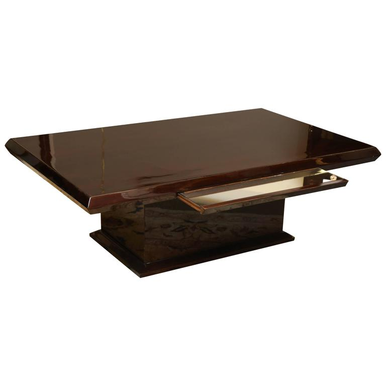 Mahogany Coffee Table At 1stdibs