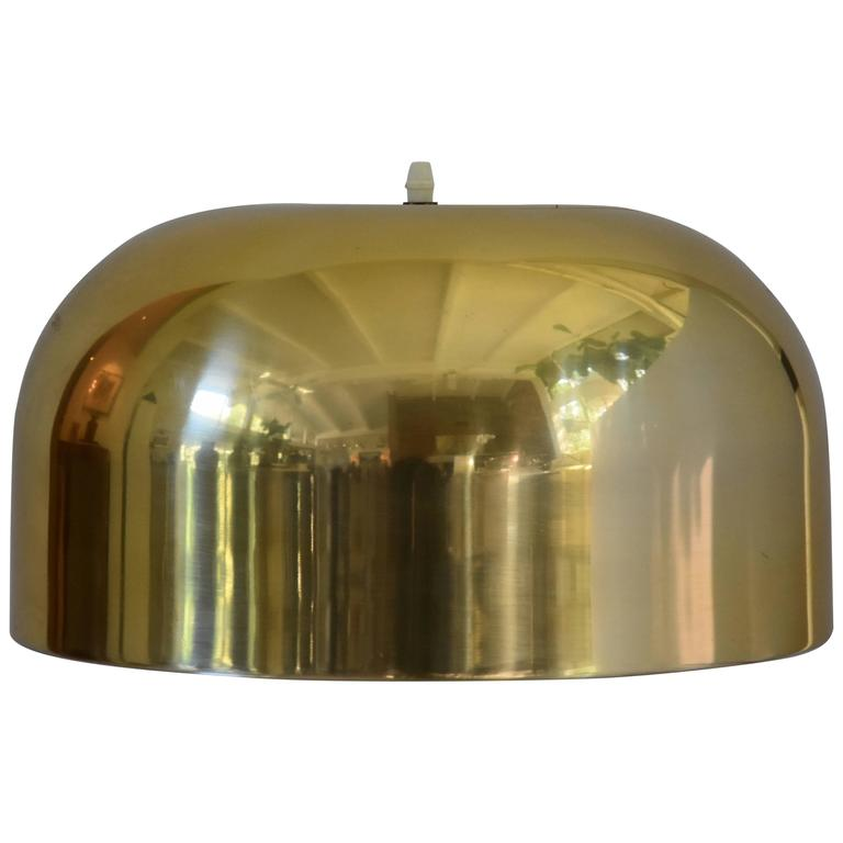 Lightolier Brass Pendant Light or Chandelier