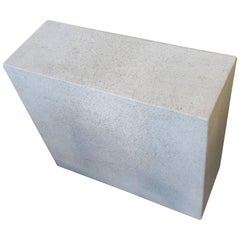 Faux Concrete Ocassional Side Table