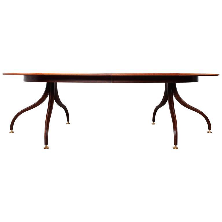 Rare Dining Table by Edward Wormley for Dunbar