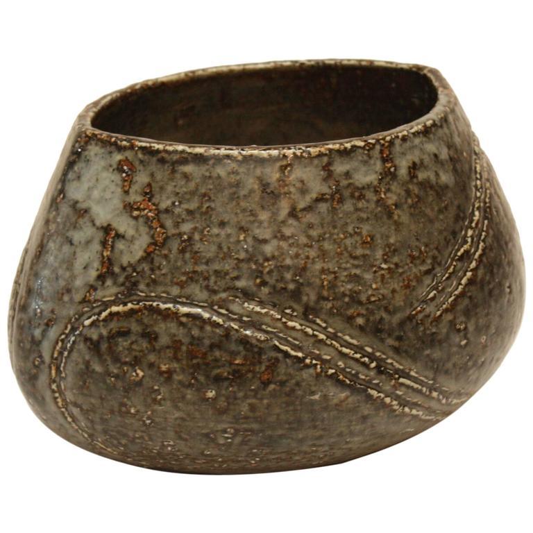 Carl-Harry Stålhane for Rörstrand Large Vase, Sweden, 1960s For Sale