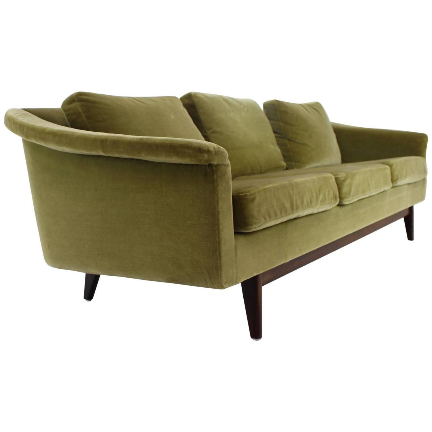 Special 1950s scandinavian three seat couch for dux for Swedish sofa