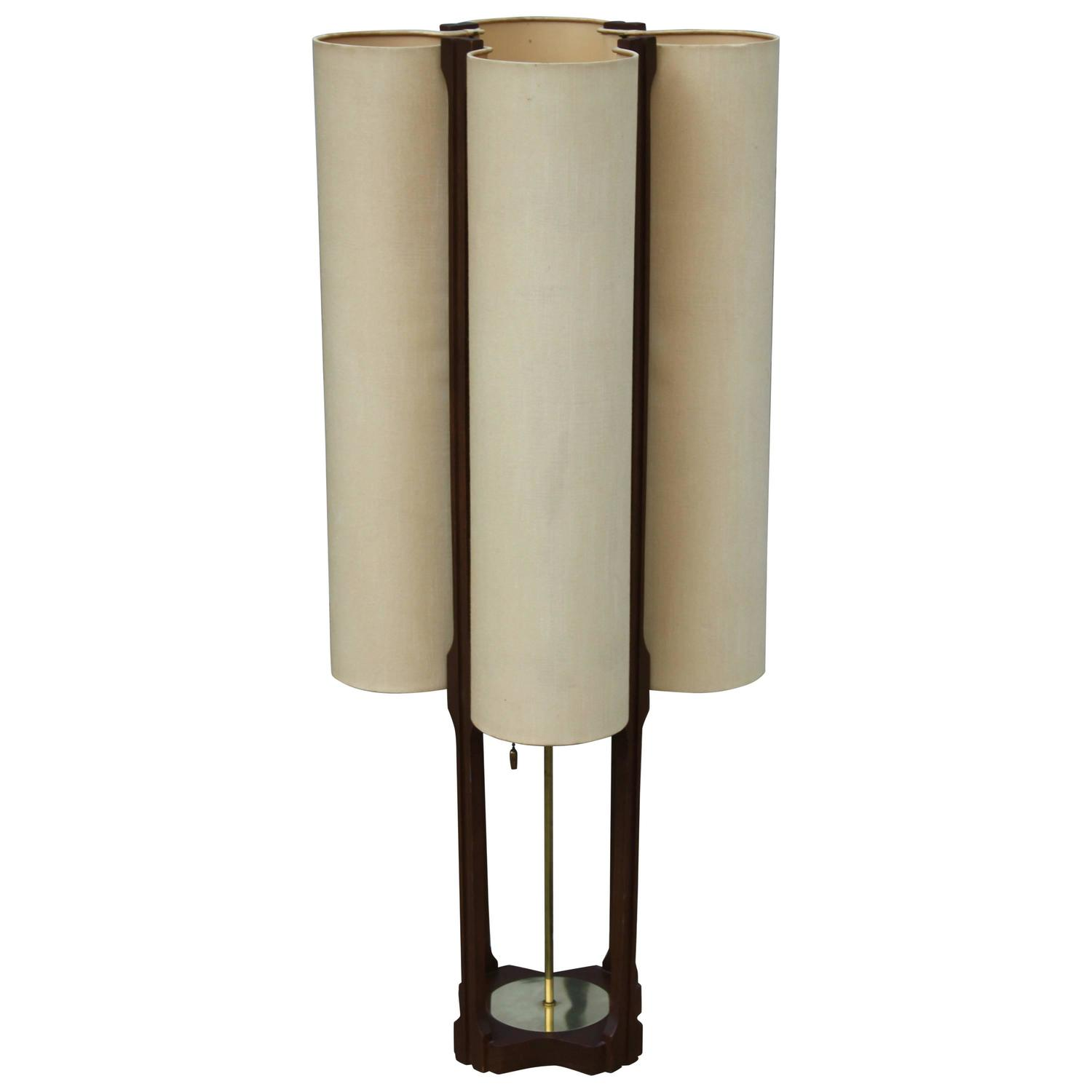 adrian pearsall style mid century modern large table lamp. Black Bedroom Furniture Sets. Home Design Ideas