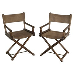 Italian Director's Chairs 'Individually Priced'