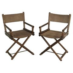 Pair of Italian Director's Chairs