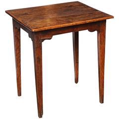 William IV Elm Side Table