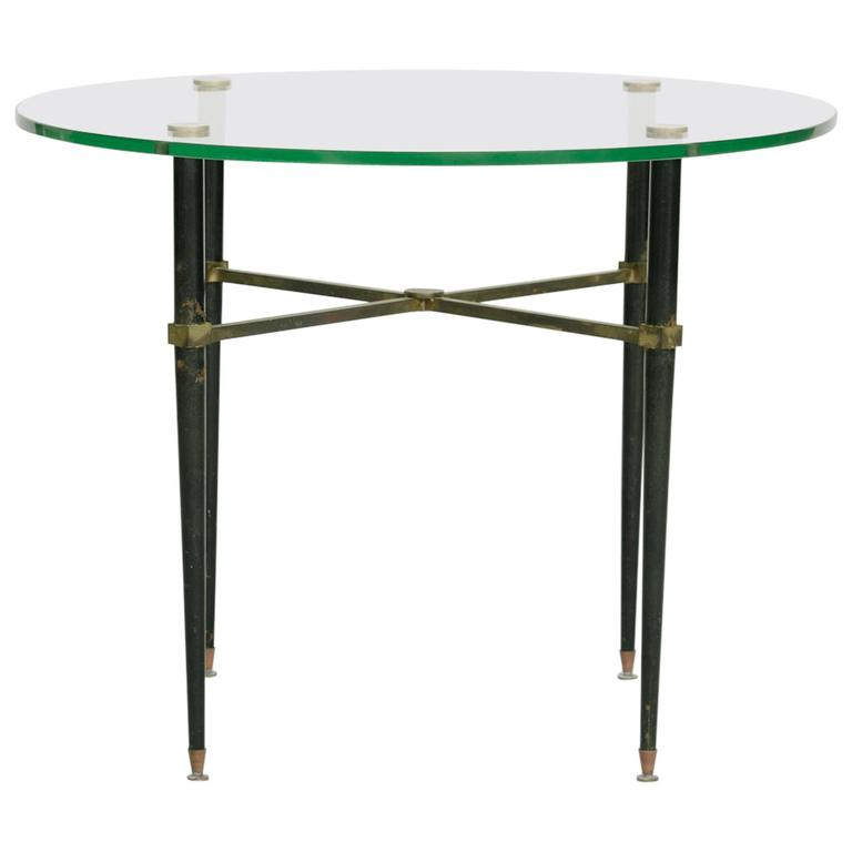 1940s Italian Bronze Occasional Table