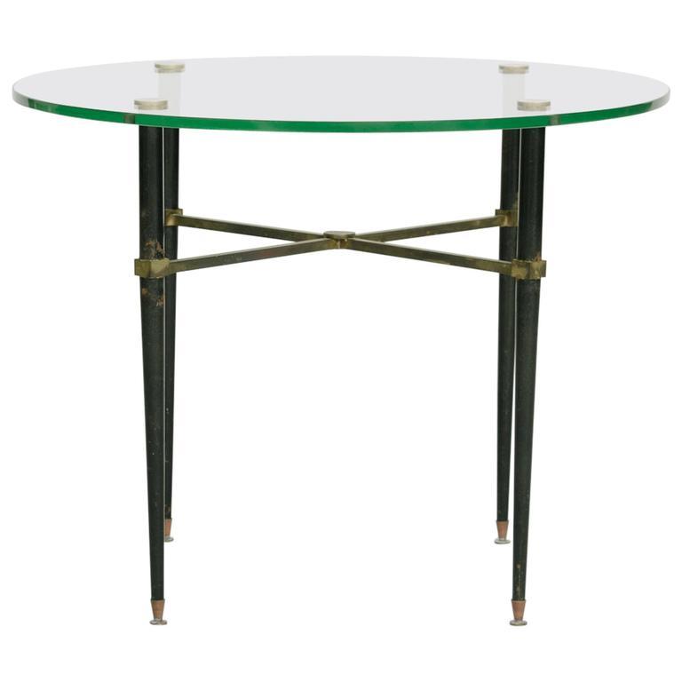 1940s Italian Bronze Occasional Table