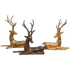 Herd of Brass Sarreid LTD Deer