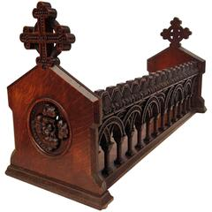 English Ecclesiastical Book Trough in the Gothic Style