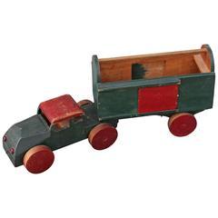 Handmade Folky Original Painted Truck