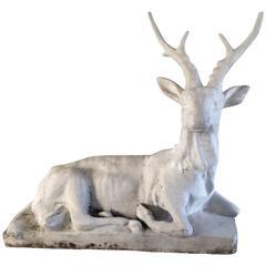 French Concrete Garden Deer