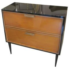 Italian Mid-Century Lacquered Chest