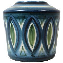 Günther and Waltraud Praschak Vase for Knabstrup, Danish Art Pottery