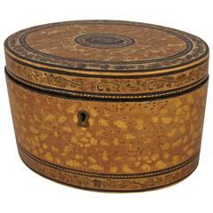 Oval China Trade Tea Caddy