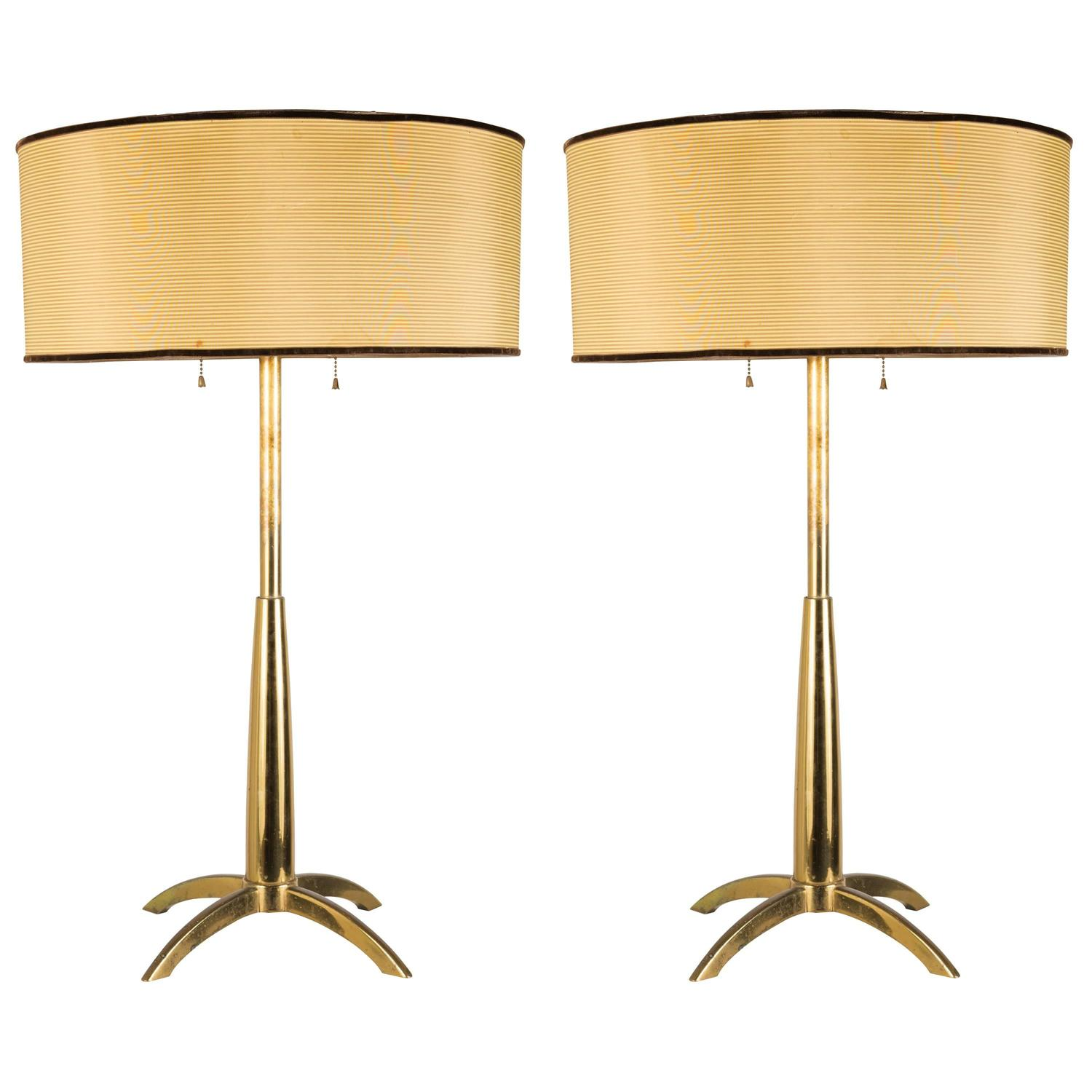 pair of stiffel table lamps at 1stdibs. Black Bedroom Furniture Sets. Home Design Ideas