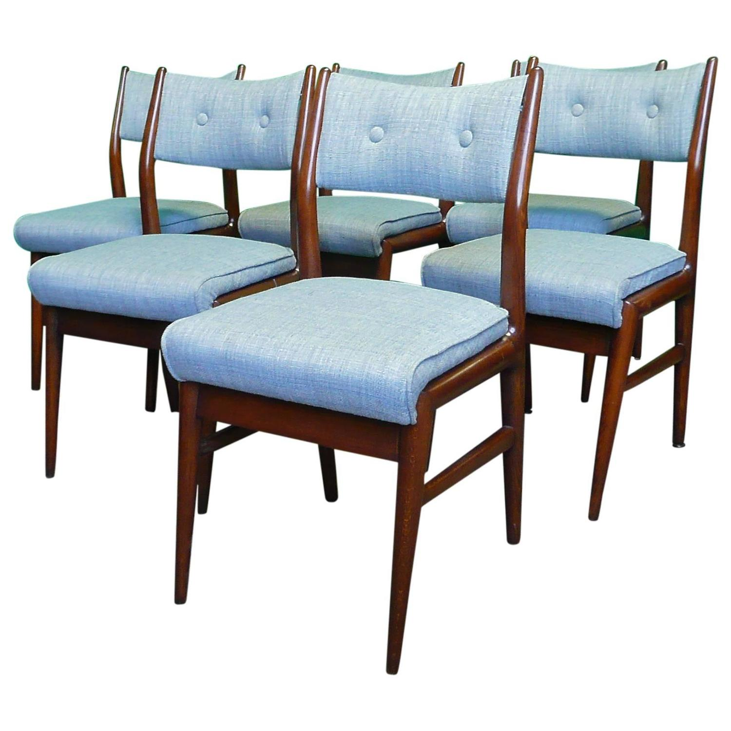 Mid century modern dining chairs at 1stdibs Mid century chairs
