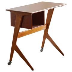 Danish Modern Modular Desk, Oak