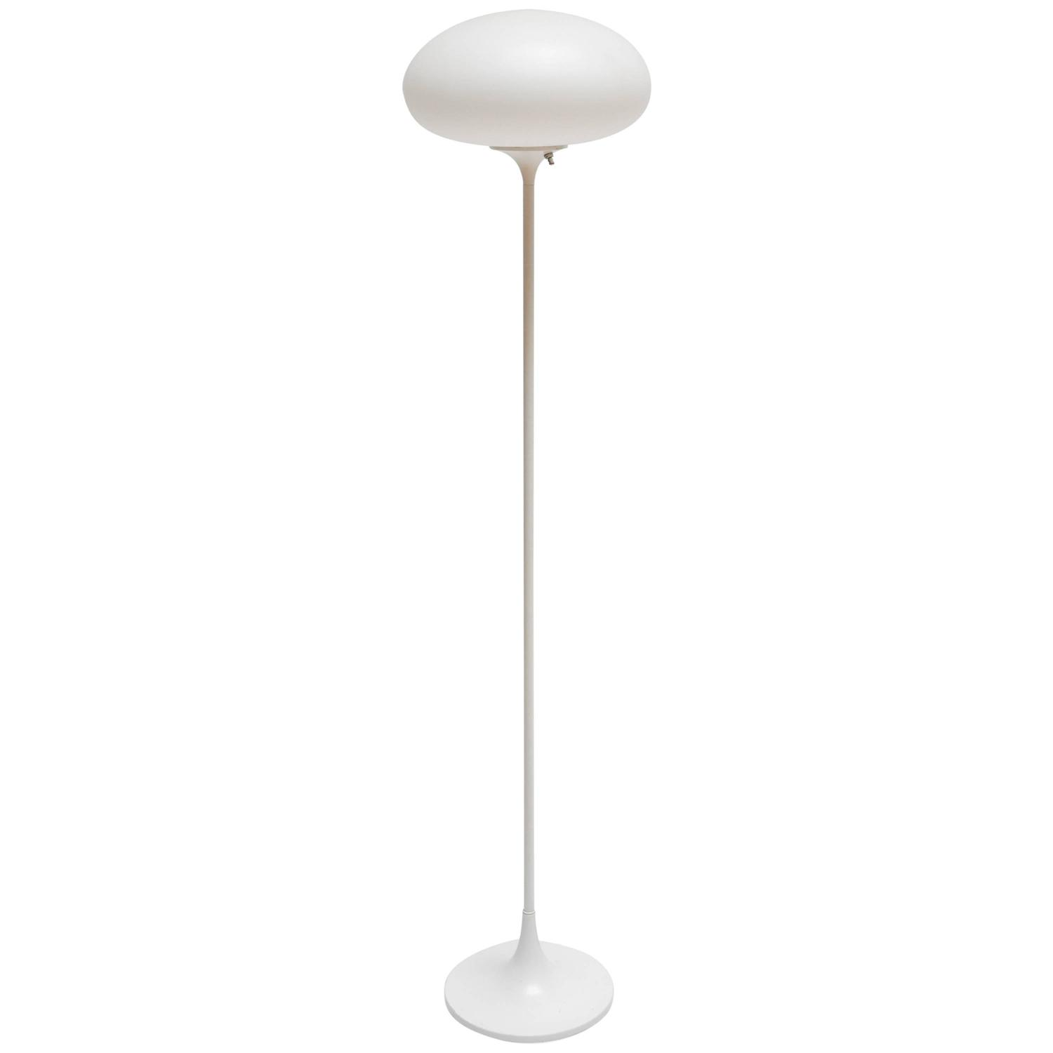 Mid-Century Modern Laurel Mushroom Floor Lamp with Glass ...