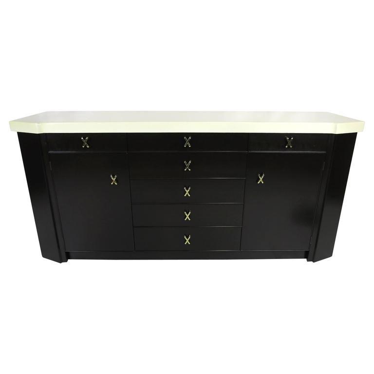 Fine Cork Top Sideboard by Paul Frankl for Johnson
