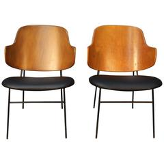 Pair of Penguin Chairs by Kofod-Larsen