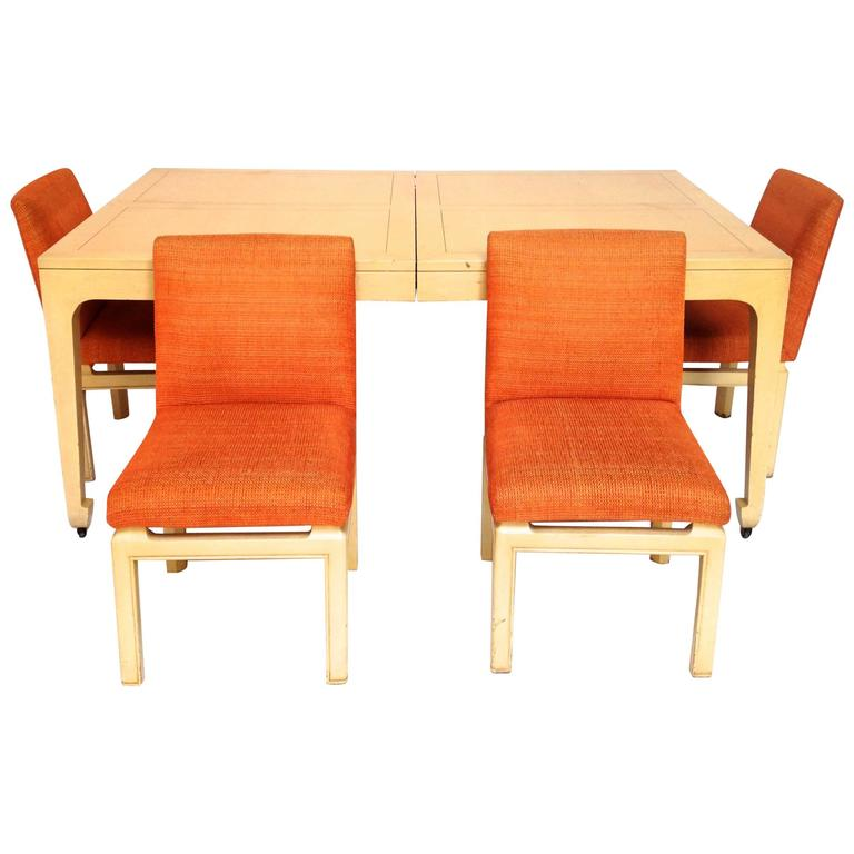 mid century modern baker far east collection dining table