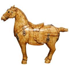 Chinese Tassellated Bone Horse