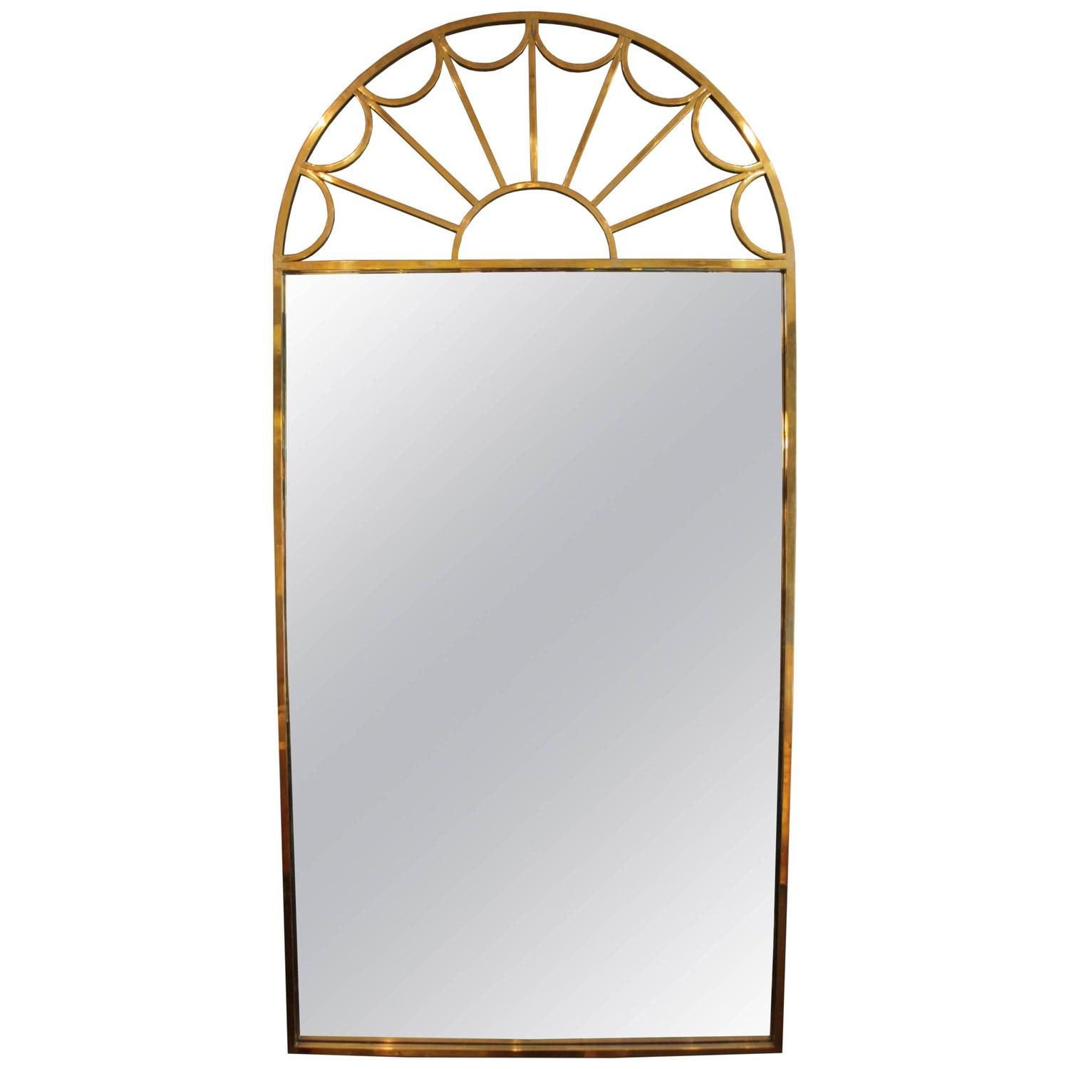 Arched gilt mirror at 1stdibs - Arched Gilt Mirror At 1stdibs 45